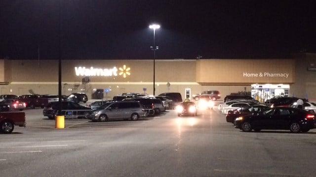 Walmart on Woodruff Road in Greenville. (FOX Carolina/ November 17, 2016)