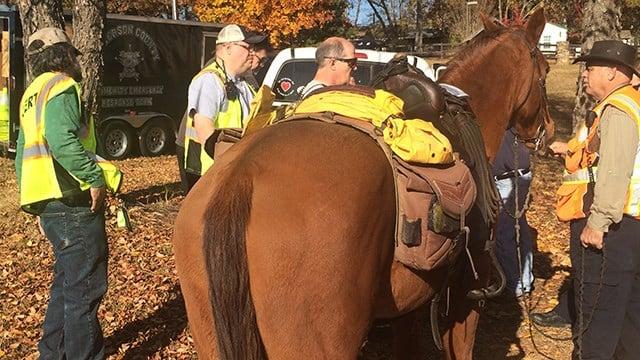 Teams participate in full-scale search and rescue drill in Anderson Co. (November 19, 2016 FOX Carolina)