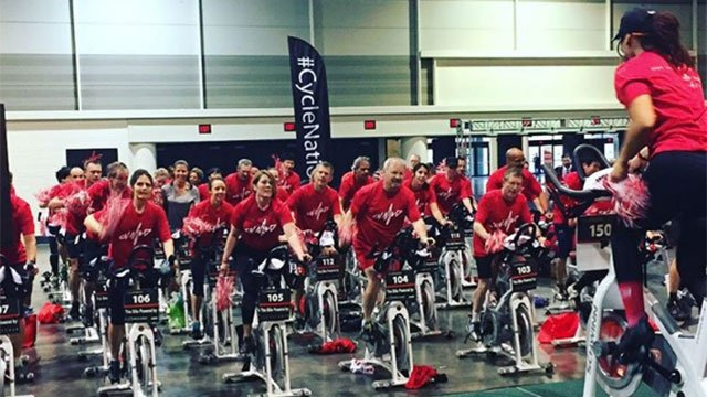 CycleBar boutique cycling studio. (Source: CycleBar Instagram)