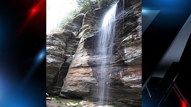 Moore Cove Falls waterfall (Source: Wikipedia)