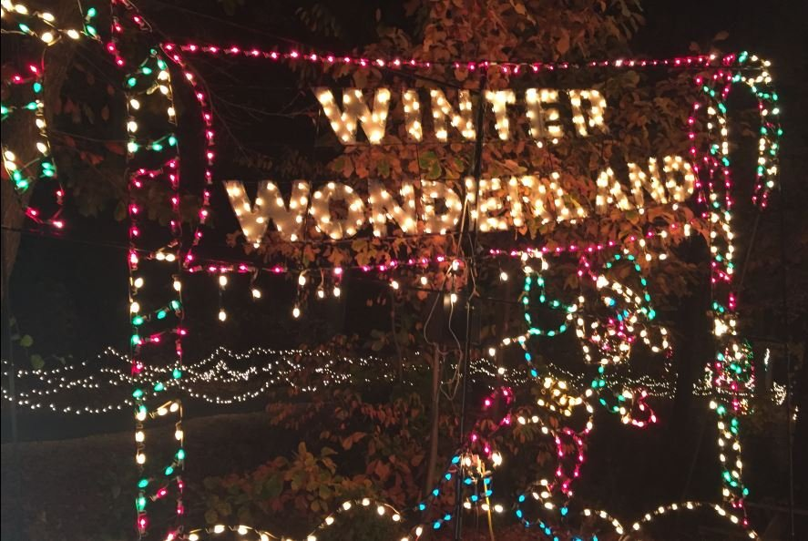 Roper Mountain Holiday Lights display (FOX Carolina/ Nov. 23, 2016)