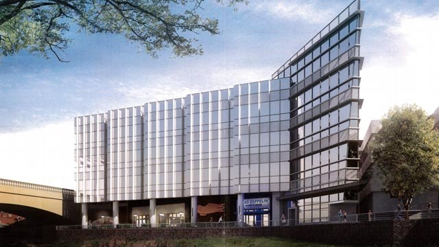An artist's rendering of the building (Courtesy: City of Greenville)