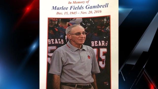 Gambrell's obituary. (FOX Carolina/ 11/23/16)