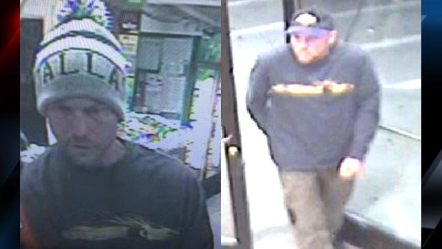 Surveillance photos of the suspect (Courtesy: Asheville police)