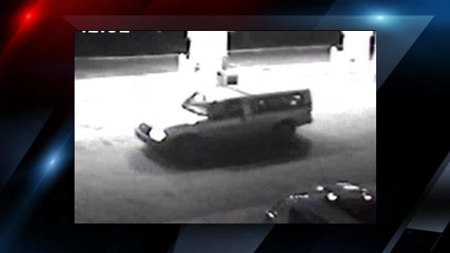 The suspect's vehicle (Courtesy: Asheville police)