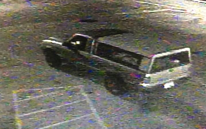 The vehicle the Buncombe Co. suspect fled in (Courtesy: BCSO)