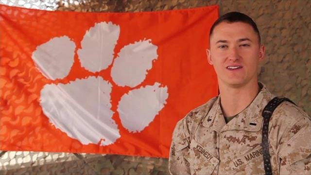 Marine captain Trey Kennedy. (Credit: DVIDS)