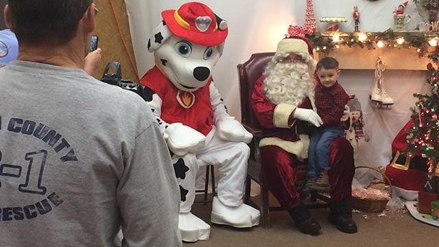 Lunch with Santa (November 26, 2016 FOX Carolina)