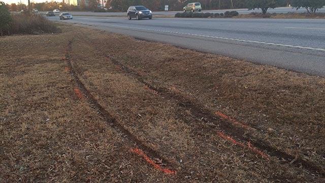 Scene of fatal accident in Greenville Co. (November 26, 2016 FOX Carolina)