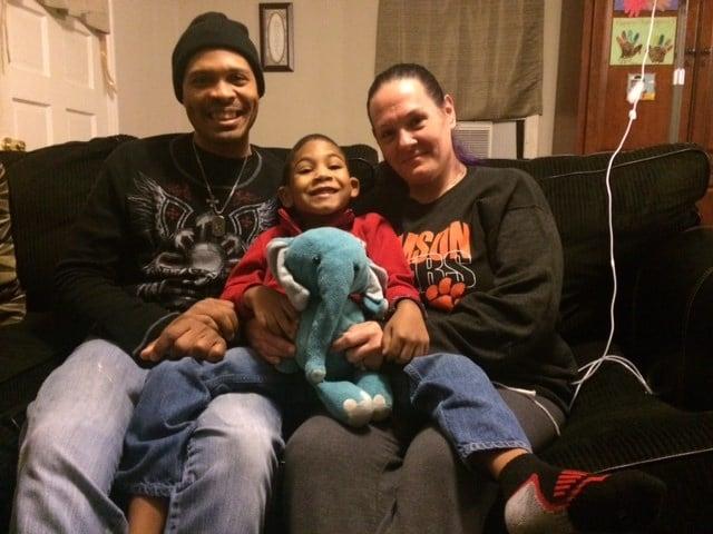 Brayden with family. FOX Carolina/Nov. 29, 2016
