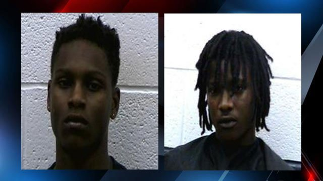 Daveon Tyrell Twitty and Dereese Matthew Miller (Source: Rutherfordton Police Dept.)