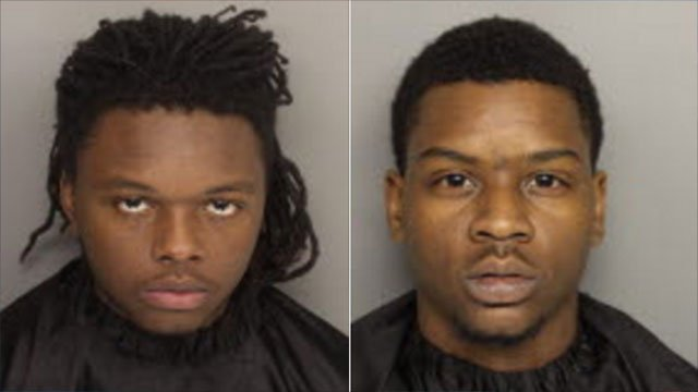Sahier Richardson (L) and Juran Withersoon (Source: Greenville Co. Detention)