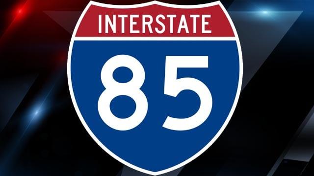I-85 sign