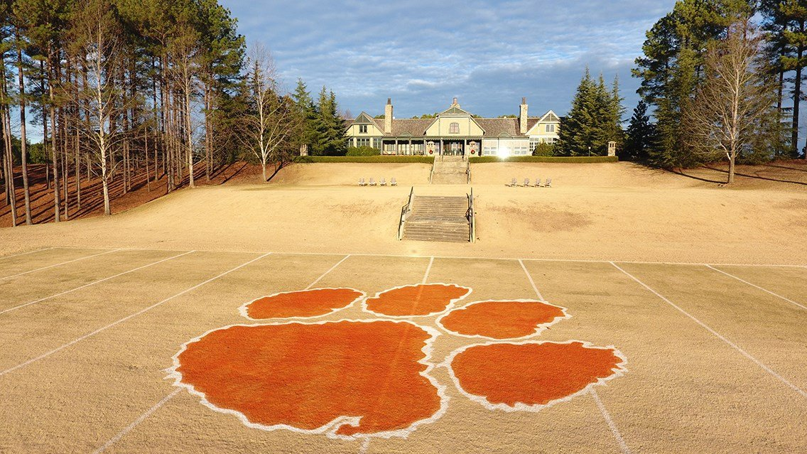 The Reserve honors Tigers with mini football field