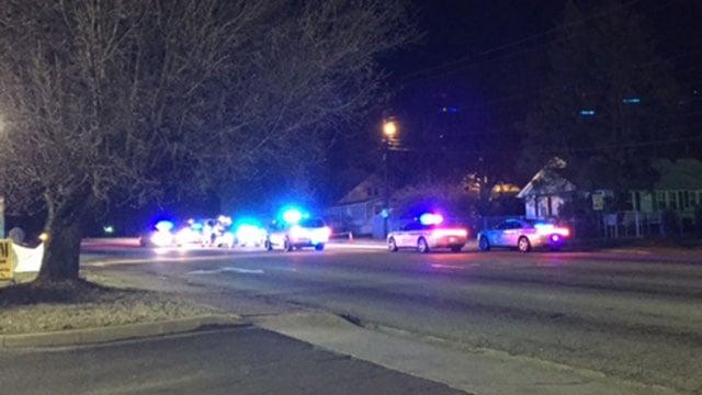 Scene on Anderson Road. (Dec. 31, 2016/FOX Carolina)