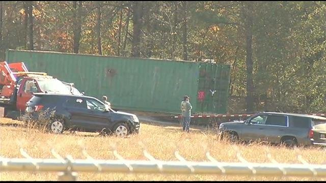 Storage container removed from Kohlhepp's property. (file/FOX Carolina)