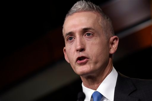Rep. Trey Gowdy (Source: Associated Press)