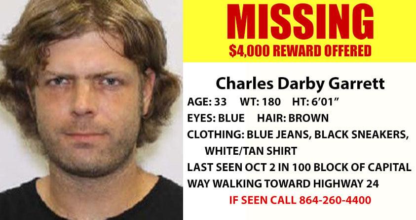 Charles Darby Garrett (Source: ACSO)