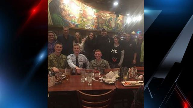 Nc dad gets huge surprise when air force son returns home for his