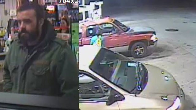 Man deputies are seeking (left) and the minivan he arrived in (right) (Courtesy ACSO)