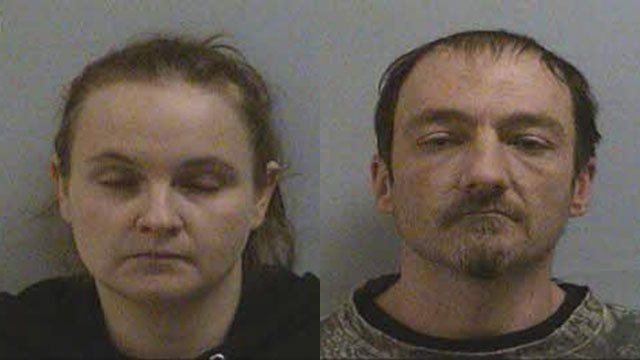 Aimee Marie Price-Harwood and Brandon Lee Melton (Source: McDowell Co. Sheriff's Office)