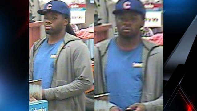 Belk larceny suspect (Source: Spartanburg Police Dept. Facebook)