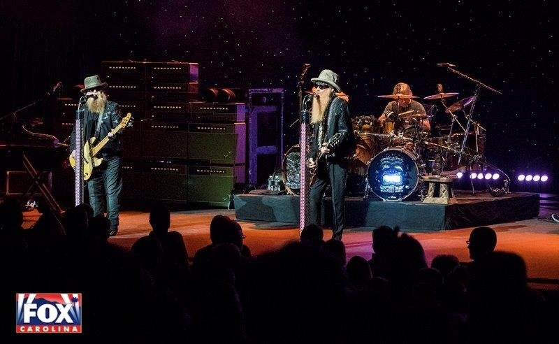 ZZ Top (file/FOX Carolina)