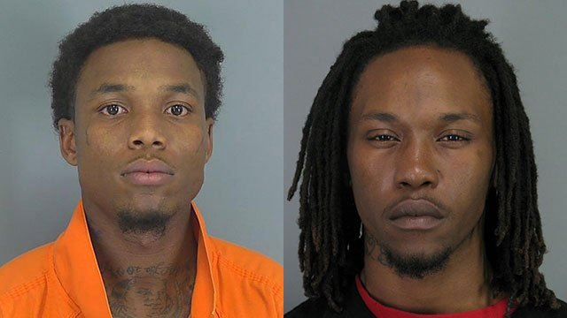 Tavaris Dewberry (L) and Tyrus Woodruff (Source: Solicitor's Office)