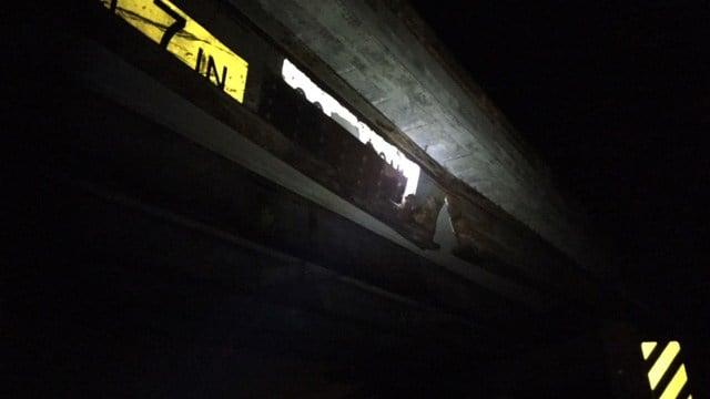 Anderson Co. bridge shut down for repairs, detours in place on Beaver Dam Road. (FOX Carolina/ 2/23/17)