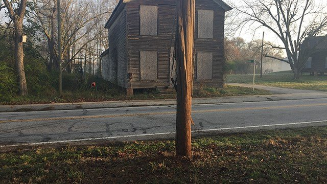 Scene of Anderson Co. crash. (FOX Carolina/ 2/23/17)