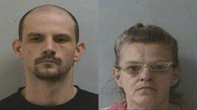 Matthew Edward Carr (left) and Belinda Marie Dawn Vance. (Source: McDowell County Sheriff's Office)