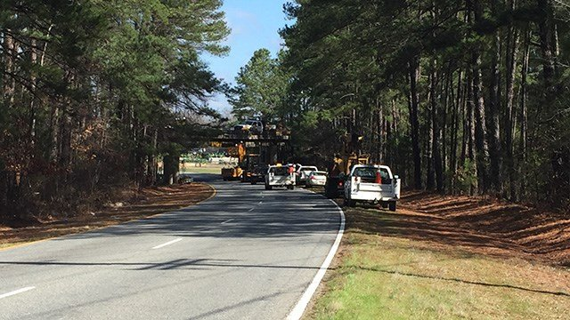 Anderson Co. bridge shut down for repairs, detours in place on Beaver Dam Road. (FOX Carolina/ 2/23/17)