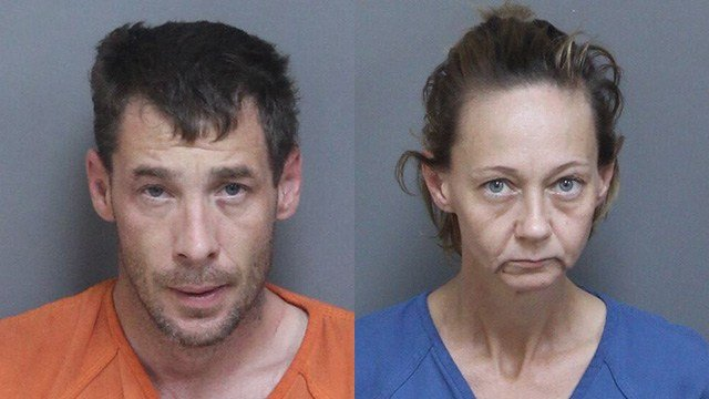 Phillip Killgore (left) and Debra L. Adkins (Source: Laurens Co. Detention Center)