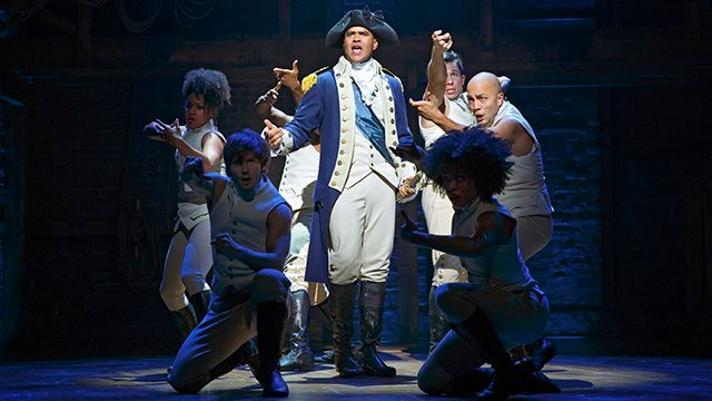 Hamilton on Broadway (Source: Peace Center)