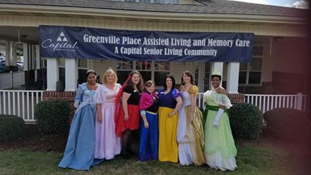 The Greenville Place Princesses (Source: Barbara Prasch)