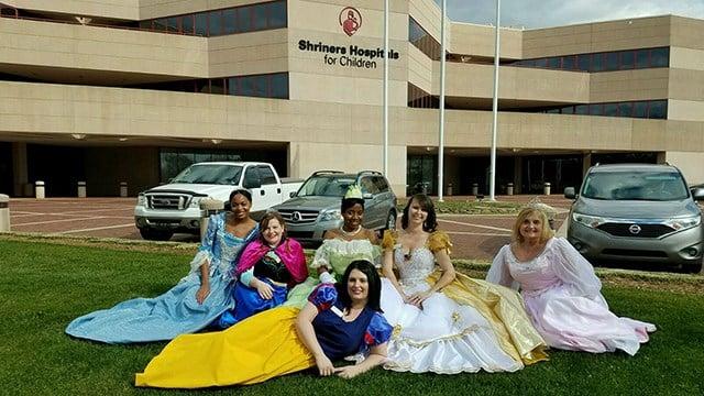 The Greenville Place Princesses (Source: Serina Durrah)