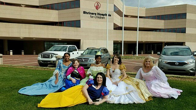 The Greenville Place Princesses (Source: Serina Durrah)