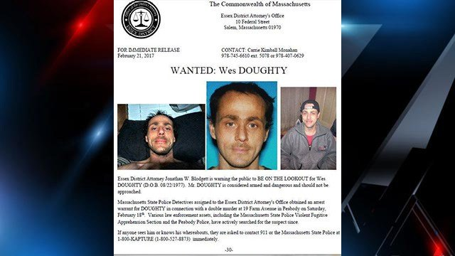 BOLO for Wes Doughty (Source: MA State Police)