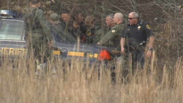 Coleman arrested after fleeing handcuffed along Highway 25. (Feb. 24, 2017/FOX Carolina)