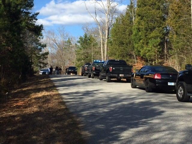 Manhunt in Gray Court (Feb. 24, 2017/FOX Carolina)