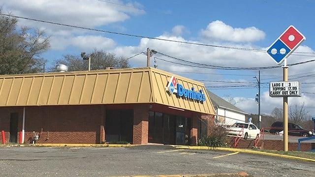 Dominos in Rutherfordton (Feb. 24, 2017/FOX Carolina)