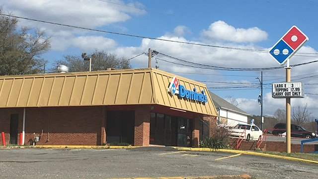 Dominos in Rutherfordton (Feb. 24, 2017/FOX Carolina)