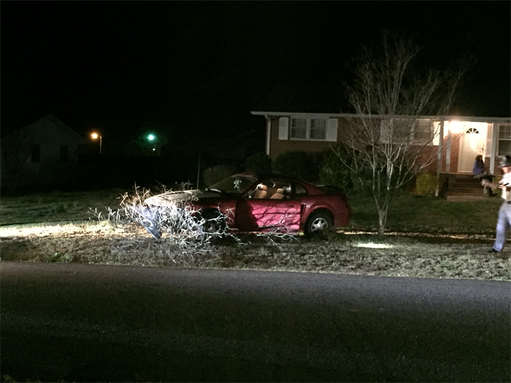 Firefighters confirmed a person was arrested after a chase ended in Williamston (FOX Carolina 2/25/17)