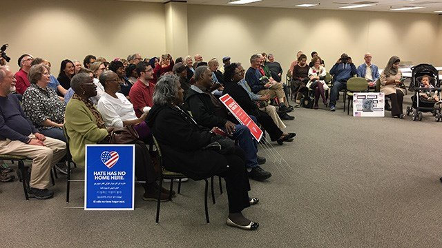 Greenville NAACP hosts Rally for Justice. (FOX Carolina/2/25/17)