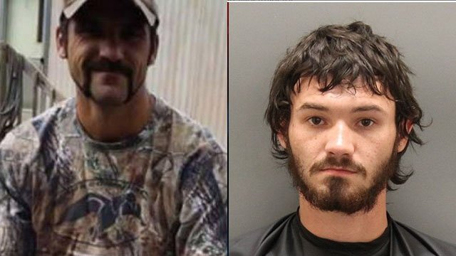 Deputies said Mulkey (left) died in 2015 after being shot by Sanford (right). (File images)