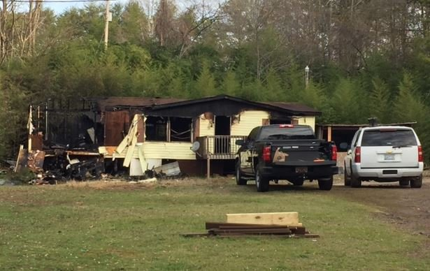 Daytime look at the Seneca fire scene (FOX Carolina/ Feb. 27, 2017)