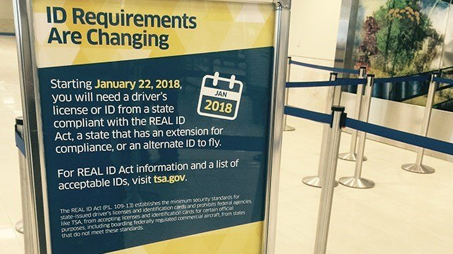 REAL ID Act changes (Dec. 22, 2016/FOX Carolina)