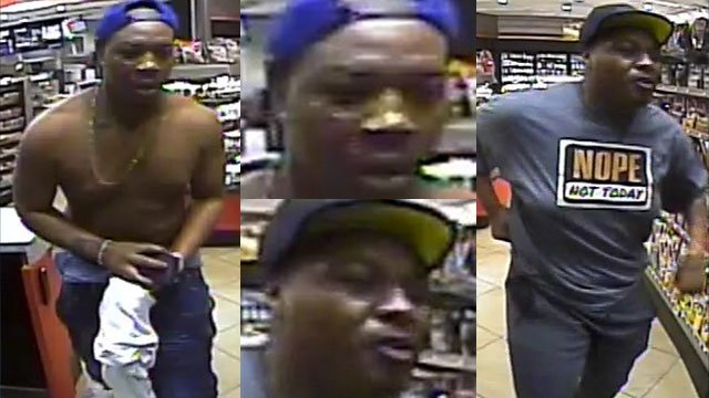 Suspects in assault by mob (Source: Greenville PD)
