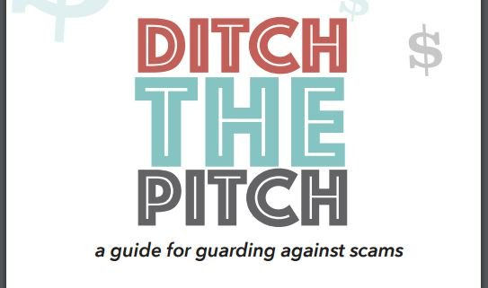 Ditch the Pitch is an initiative to help the elderly avoid being scammed by fraudsters (Courtesy: SC Dept. of Consumer Affairs)