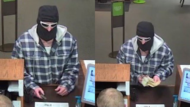 Robbery at Greenville bank (Source: GPD)